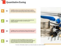 Quantitative Easing Money Supply Ppt Powerpoint Presentation Model Graphics Pictures