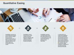 Quantitative Easing N518 Powerpoint Presentation Icons