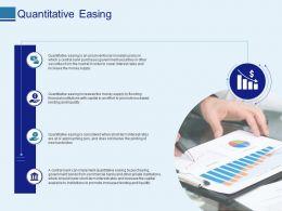 Quantitative Easing Ppt Powerpoint Presentation Professional Ideas