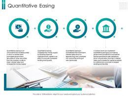 Quantitative Easing Rates Ppt Powerpoint Presentation Portfolio Design Templates