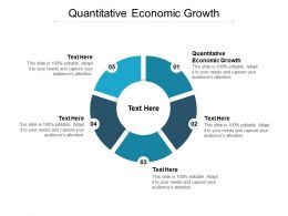 Quantitative Economic Growth Ppt Powerpoint Presentation Icon Professional Cpb