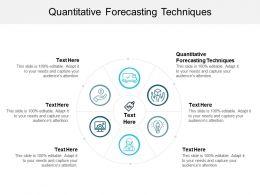 Quantitative Forecasting Techniques Ppt Powerpoint Presentation Slides Backgrounds Cpb