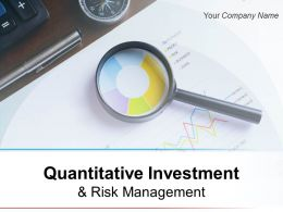 Quantitative Investment And Risk Management Powerpoint Presentation Slides