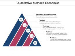 Quantitative Methods Economics Ppt Powerpoint Presentation Diagram Images Cpb