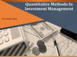 Quantitative Methods In Investment Management Powerpoint Presentation Slides