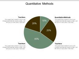 Quantitative Methods Ppt Powerpoint Presentation Show Template Cpb