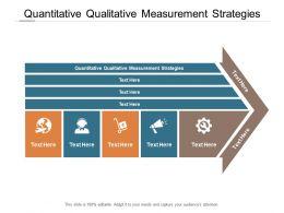 Quantitative Qualitative Measurement Strategies Ppt Powerpoint Presentation Styles Skills Cpb