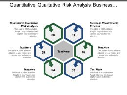 Quantitative Qualitative Risk Analysis Business Requirements Process Personal Goals Cpb