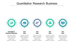 Quantitative Research Business Ppt Powerpoint Presentation Gallery Inspiration Cpb