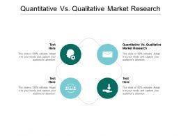 Quantitative Vs Qualitative Market Research Ppt Powerpoint Presentation File Slide Download Cpb