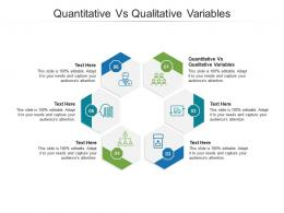 Quantitative Vs Qualitative Variables Ppt Powerpoint Presentation Model Gridlines Cpb
