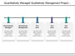 Quantitatively Managed Qualitatively Management Project Monitoring Control Password