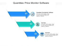 Quantities Price Monitor Software Ppt Powerpoint Presentation Model Design Templates Cpb