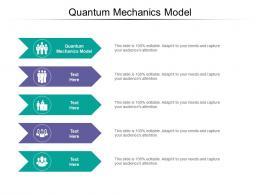 Quantum Mechanics Model Ppt Powerpoint Presentation Layouts Layout Cpb