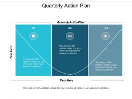 Quarterly Action Plan Ppt Powerpoint Presentation Styles Ideas Cpb