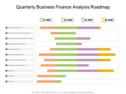 Quarterly Business Finance Analysis Roadmap