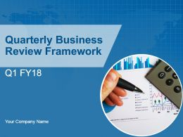 Quarterly Business Review Framework Powerpoint Presentation Slides