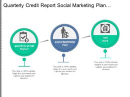 Quarterly Credit Report Social Marketing Plan Distribution Service Cpb