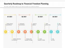 Quarterly Roadmap To Financial Freedom Planning