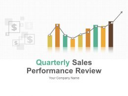 Quarterly Sales Performance Review PowerPoint Presentation With Slides