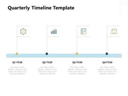 Quarterly Timeline Growth Ppt Powerpoint Presentation Gallery