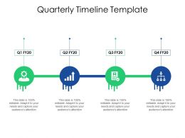 Quarterly Timeline Template Ppt Powerpoint Presentation Example File