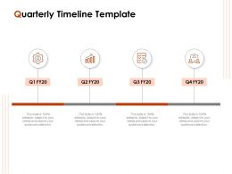 Quarterly Timeline Template Ppt Powerpoint Presentation Samples