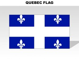 Quebec Country Powerpoint Flags