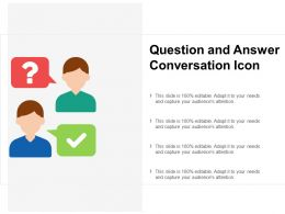 Question And Answer Conversation Icon
