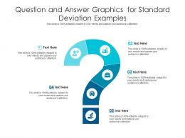 Question And Answer Graphics For Standard Deviation Examples Infographic Template