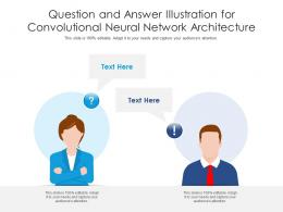 Question And Answer Illustration For Convolutional Neural Network Architecture Infographic Template