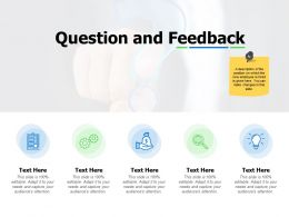 Question And Feedback Icons Ppt Powerpoint Presentation Model Example File