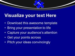 Question Mark On Jigsaw Puzzle Piece Shape Powerpoint Templates Ppt Themes And Graphics 0113