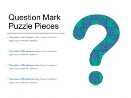 Question Mark Puzzle Pieces