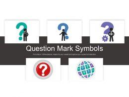 Question Mark Symbols
