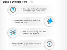 Question Mark Two Arrows First Position Ppt Icons Graphics
