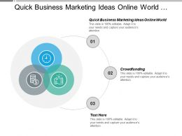 quick_business_marketing_ideas_online_world_crowdfunding_job_performance_cpb_Slide01