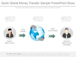 Quick Global Money Transfer Sample Powerpoint Show