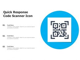 Quick Response Code Scanner Icon
