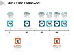 Quick Wins Framework Powerpoint Slides