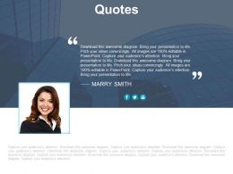Quote For Business Information And Introduction Powerpoint Slides