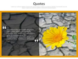 quote_with_flower_background_for_best_wishes_powerpoint_slides_Slide01
