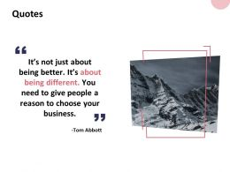 Quotes Business B42 Ppt Powerpoint Presentation Show