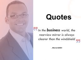 Quotes Business Obtainable Market K242 Ppt Powerpoint Presentation Ideas Tips