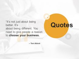 Quotes Business Ppt Powerpoint Presentation Inspiration Design Templates