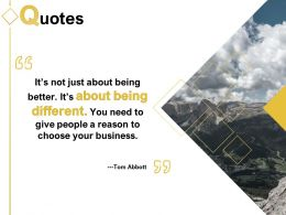 Quotes Business Ppt Powerpoint Presentation Portfolio Graphics