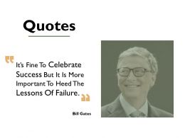 Quotes Business Success C746 Ppt Powerpoint Presentation File Background Images