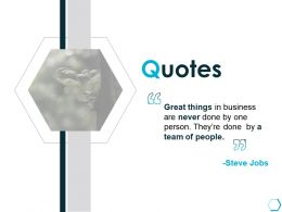 Quotes Communication Business K54 Ppt Powerpoint Presentation Styles