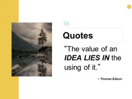 Quotes Communication D335 Ppt Powerpoint Presentation Model Tips
