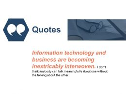 Quotes Communication Management L15 Ppt Powerpoint Presentation Styles Model